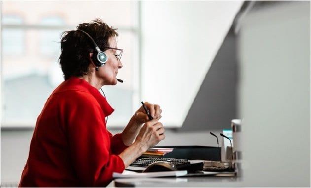 Valeurs erfarne konsulent Bodil. Valeur har 27 års erfaring med mødebooking og telemarketing. Vi åbner nye døre for B2B-virksomheder og det offentlige.