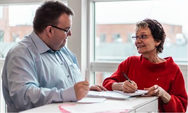 Valeurs erfarne konsulenter Bodil og Ronni hjælper jeres virksomhed med at differentiere jer på markedet.